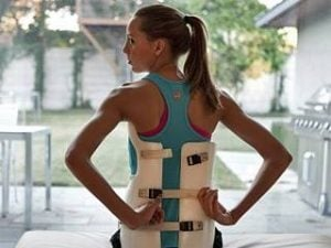 back brace for adolescents with scoliosis
