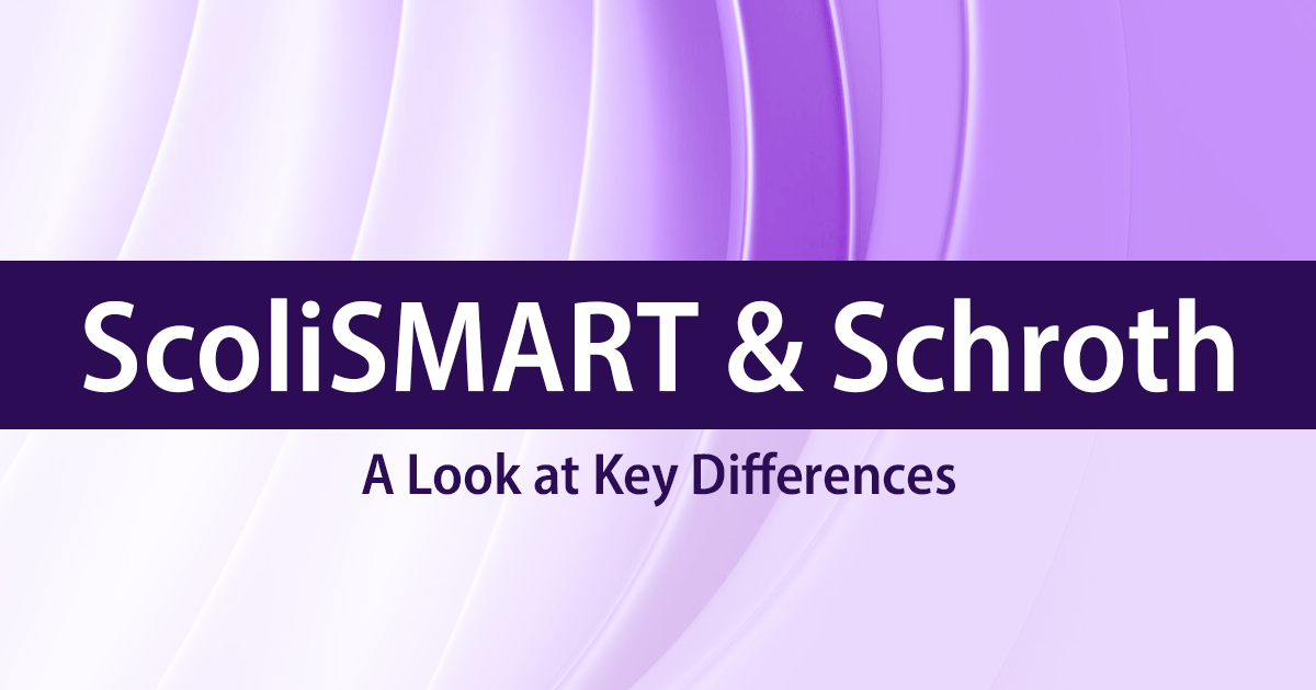 ScoliSMART & Schroth Differences