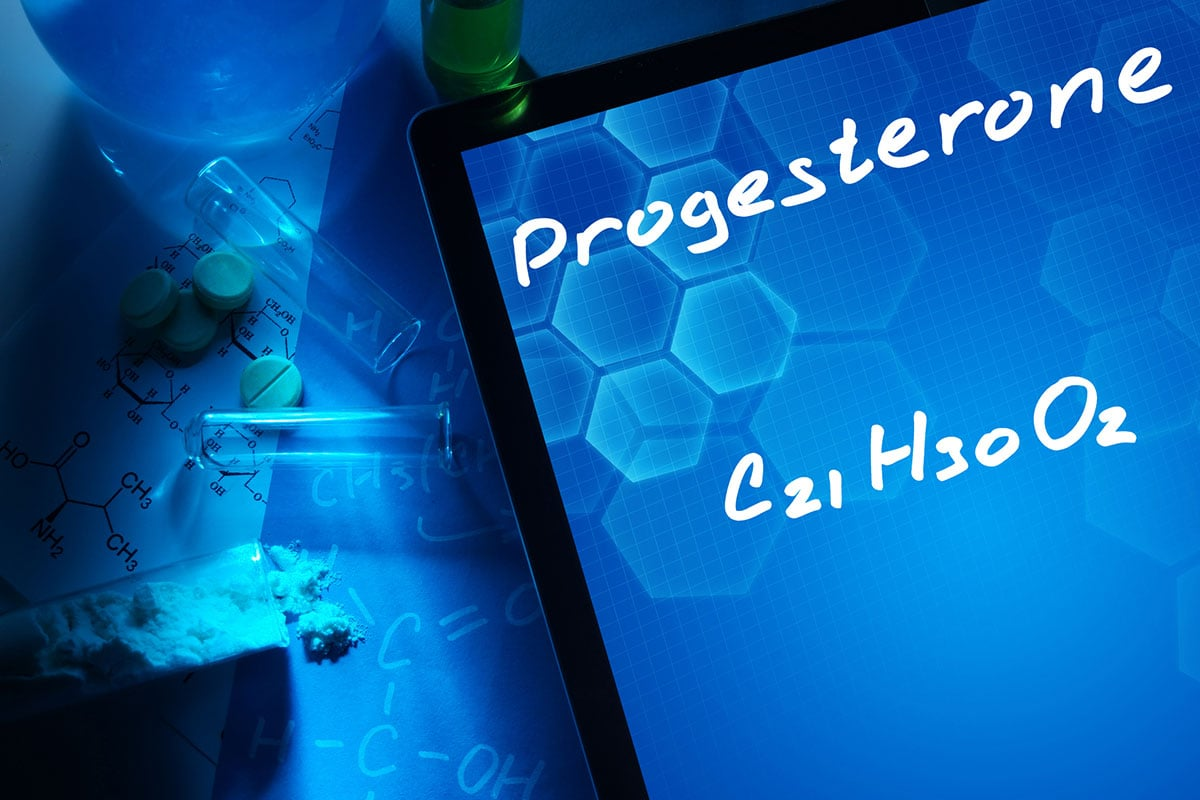 Chemical Formula for Progesterone